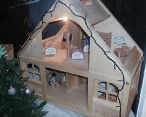 Advent Window at So Organic - 3rd December
