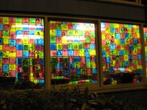 James Wolfe School advent window - 5th December